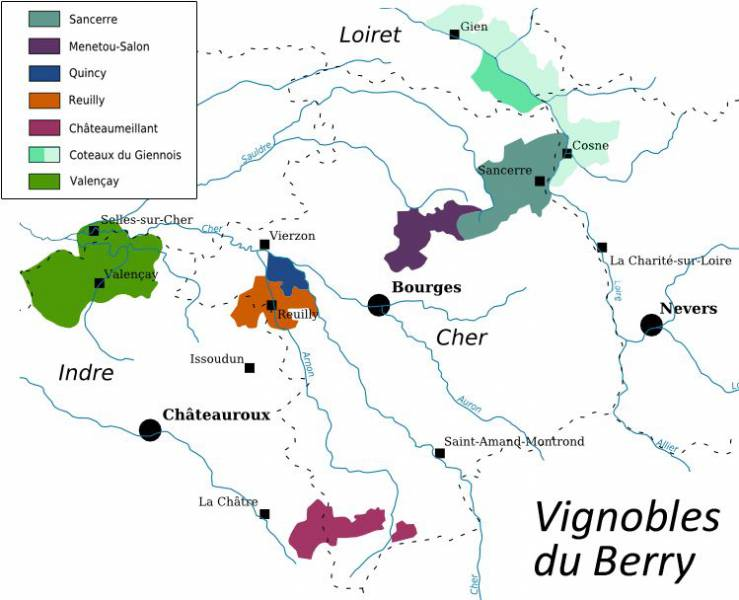 Vignobles du Berry